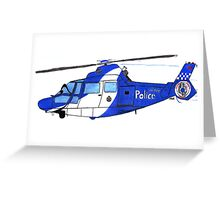 Air Support! Greeting Card