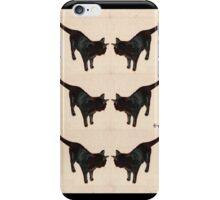 Feline Fortuna (black cat) iPhone Case/Skin
