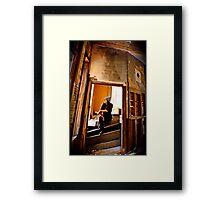Self-Perspective 2 Framed Print
