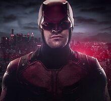Daredevil Red Poster by Otakusauce