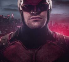 Daredevil Red Poster Sticker