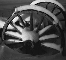 snow on wheel by Joe  LaFata