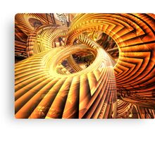 Abstract that Twisted Escher Fx Canvas Print