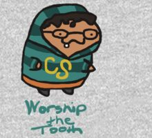 Worship The Tooth One Piece - Long Sleeve