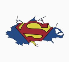 Superman Cracked Kids Clothes