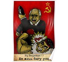 Khrushchev Vs Capcom  Poster