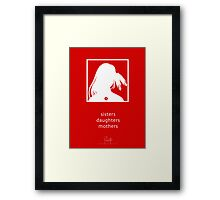 Sisters, Daughters, Mothers - an Aaron Paquette Design Framed Print