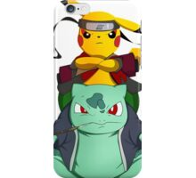 Pikachu Naruto iPhone Case/Skin