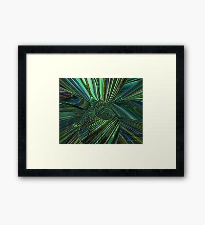 Radiant Flower Fx  Framed Print