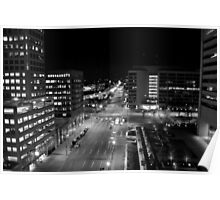Light Street in Baltimore Poster