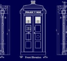 Doctor who TARDIS design  Sticker