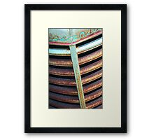 Old Grill Framed Print
