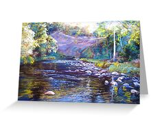 Rocks & Ripples - Howqua River Greeting Card
