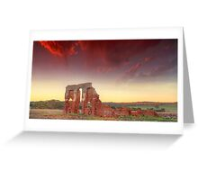 Days gone by.... New Norcia ruin's, Western Australia Greeting Card