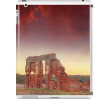 Days gone by.... New Norcia ruin's, Western Australia iPad Case/Skin