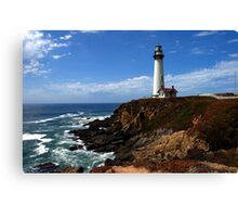 Pigeon Point  Canvas Print