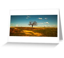 Sparse Tree - Parkes, NSW Greeting Card