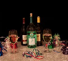 Celebration with Wine by Sherry Hallemeier