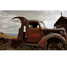 Rusty Ford Photographic Print