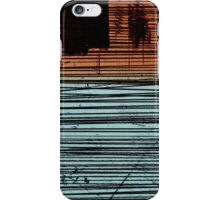 Orange/Blue Carefree iPhone Case/Skin