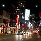 Downtown Yonge Street From North of Walton by Gary Chapple