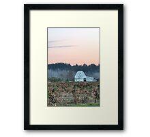 Berry Farm as Dusk Nears Framed Print