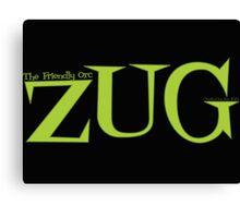 ZUG TITLE! Canvas Print