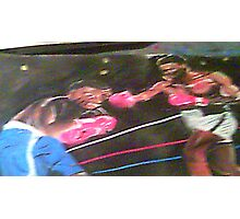 THE BIG FIGHT Photographic Print
