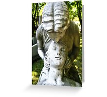 Mourning in Forever Greeting Card