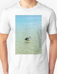 Pelican swimming in the water T-Shirt