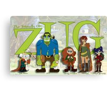 ZUG and Friends! Canvas Print