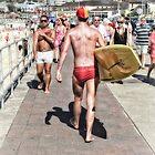 Bondi Moments - Body Surfer by Ian English