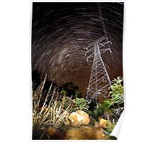Carmel Star Trails. Poster