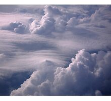 Clouds Over Cleveland by Trevett  Allen