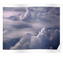 Clouds Over Cleveland Poster