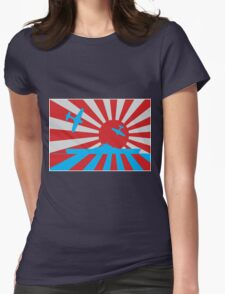 Kamikaze Womens Fitted T-Shirt