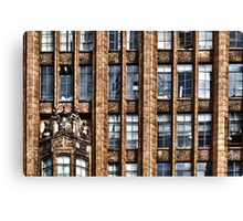 The Old Office Building Canvas Print
