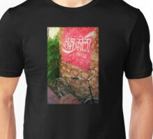 Hindi Coca-cola Ad Painted On Wall Unisex T-Shirt