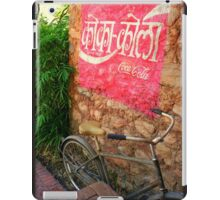 Hindi Coca-cola Ad Painted On Wall iPad Case/Skin