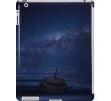 Naval sea mine, drifting in the ocean  iPad Case/Skin