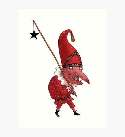 Mr. Punch and the Dark Star Art Print