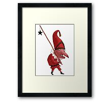 Mr. Punch and the Dark Star Framed Print