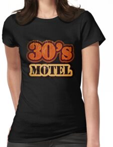 Vintage 30's Motel - T-Shirt Womens Fitted T-Shirt
