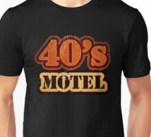 Vintage 40's Motel - T-Shirt Unisex T-Shirt