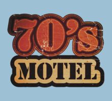 Vintage 70's Motel - T-Shirt Kids Tee