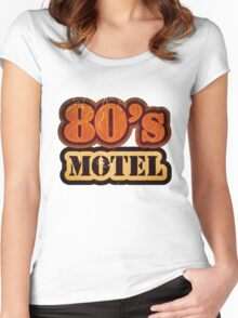 Vintage 80's Motel - T-Shirt Women's Fitted Scoop T-Shirt