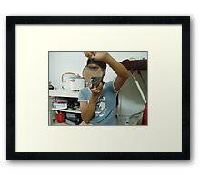 My Eye - Zaw Rein Framed Print