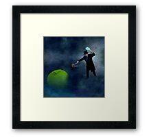 Laughing at Tomatoes Framed Print