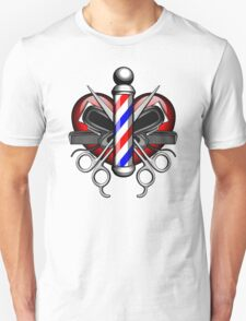 Heart Barbers Unisex T-Shirt