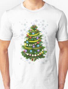 Christmas tree & snow T-Shirt